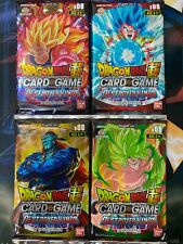 Dragon Ball Super Card Game Bandai B06 4x Destroyer Kings Sealed Booster Pack