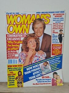 Woman's Own Magazine 23 October 1989 Vintage Women Magazine Coronation Street