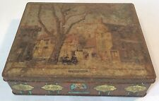 """Collectable Vintage Edward Sharp & Sons """"Shakespeare"""" Themed Toffee Tin c.1940s"""