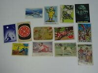 Vintage Lot of 1960's Trading Cards Inc. Tarzan Disney Land Weird-Ohs Hillbillie