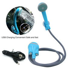 Portable Shower USB Charging Handheld Rechargeable Showerhead Pumps f/ Camping