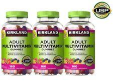 Kirkland Adult Multivitamin Chewable Gummies 480 Multi-Vitamins 3 Pack IMMUNITY!