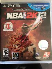 NBA 2K12  - Sony Playstation 3 Game