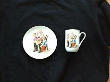Norman Rockwell Museum - The Toy Maker: Collector's Plate & Mug Set