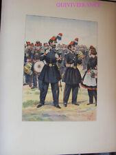 PL058 - PLANCHE JOB - GARDE NATIONALE DE PARIS 1848
