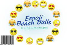 Emoji Beach balls Small Emoji Beachballs Assorted Emogi Beach Ball 12 Pack