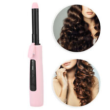 Wireless Portable 2 in 1 Electric Heating Hair Straighteners Curling Iron Curler