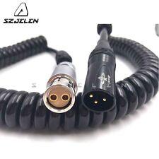 XT 2pin Famale to 3Pin XLR for ARRI Alexa XT/SXT/Arriflex 435 Power Cable