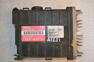 A-1551 AUDI ENGINE CONTROL UNIT ECU 443907311C / 0261200273