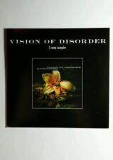 VISION OF DISORDER LIVING TO DIE ON THE TABLE 2 SONG SAMPLER MUSIC CD