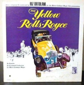 Riz Ortolani - The Yellow Rolls-Royce - 1965 US 1st Mono Press - VG+ Vinyl LP