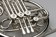 TEMPEST F/Bb FRENCH HORN STRING LINKAGE COMPLETE NICKEL SILVER KRUSPE WRAP CASE