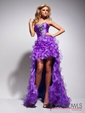 NWT Tony Bowls 113510 pageant prom formal evening occasion Hi Lo dress 2