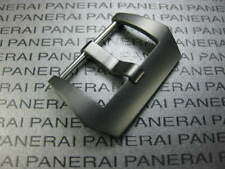 24mm Swiss Stainless PRE-V SCREW IN Black PVD BUCKLE made for PANERAI Strap 24