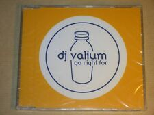 RARE CD MAXI 4 TITRES / DJ VALIUM / GO RIGHT FOR / NEUF SOUS CELLO