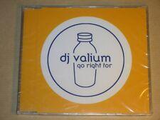 RARE CD MAXI 4 TITRES / DJ VALIUM / GO RIGHT FOR / NEUF SOUS CELLO