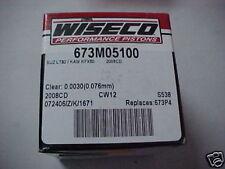 Wiseco Piston Kit Suzuki LT80 / Kawasaki KFX80 4th Step Oversize 673P4 673M05100