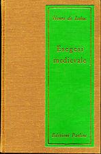 Catholic - ITALIAN book - Henri de Luac - Esegesi Medievalle - Medieval Exegesis