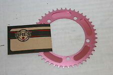 NEW Brev. M Masi Fixie Fixed Gear ChainRing Sprocket Chain ring 42t Pink 130 BCD