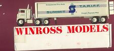 Summit T.A.R.I.F.F. Freight Payment Plan '83 Winross Truck