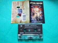 ►►Rare Polish cassette Star Wars The Phantom Menace SOUNDTRACK John Williams