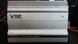 Alpine MRV-F401 4-Channel Amplifier. Sound Quality Amplifier