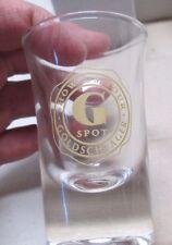 Lot of 6 Bicchieri Dublino Goldschlager Shot Glasses Show Us Your G Spot w/Box