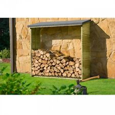 Kaminholzregal Aktion 1,8 m³ Holz Unterstand Brennholzregal Kaminholzunterstand