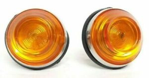 Lights Fiat 500 F/L/R / 850/124 Indicators Side With Lamp Holder Made Italy