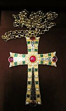 Orthodox Christian Bishop Archimandrite Priest Cross Pectoral Encolpion Vestment