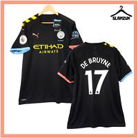 Manchester City Football Shirt Puma XL Away 125 Anni Soccer Jersey 2019 2020 B69