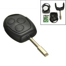 433MHZ 4D60 Chip 3 Button Remote Entry Key Fob Case For FORD MONDEO FIESTA FOCUS