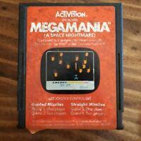 Megamania  ( Atari 2600 ) Cartridge Only - NTSC -U/C - Tested & Working