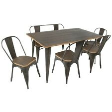 LumiSource Dining Set - DS-TW-OR6036E6