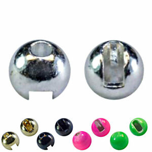 MFC Tungsten Jig Beads/Fly Tying Materials - All Sizes