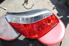 2006-10 BMW E60 525i Original Red/Clear Tail Brake Lights LH DRIVER LEFT V1005