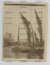 More details for london photo 1896-7 thames sailing barge east london docks