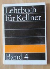 DDR Lehrbuch Kellner 4 Office Büfett Restaurant Art Ausstattung Ausschank Ablauf