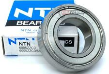 NTN 6005 ZZC3 Single Row Radial Ball Bearing Metal Shielded 25x47x12mm