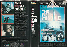 THE FIFTH MISSILE SAM WATERSON ROBERT CONRAD DAVID SOUL  RARE PAL VHS VIDEO