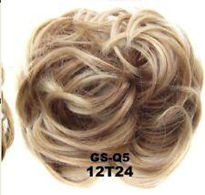 Elastic Scrunchie Hair Curly Bun Hair Piece Hair Extension Over 40 COLOURS