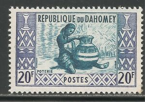 Dahomey #148 (A15) VF MINT LH - 1961 20fr Potter and Pottery