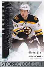 2013-14 Sp Authentic #207 Ryan Spooner Rookie Future Watch RC /1299 Set Break