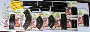 LOT Aurora Model Racing Tracks HO Scale. Original Packages - Rails Pins Curves