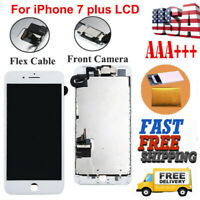 For iPhone 7 Plus A1661 A1784 LCD Replacement 3D Touch Screen Digitizer+Camera