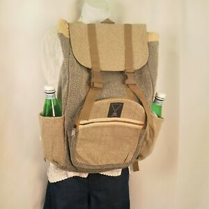 Hemp Backpack | Organic |THC Free | Eco Friendly | Free of Toxic Chemicals | ॐ