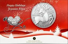 Canada $20 for $20 Fine Silver Coin - Magical Reindeer (2012)