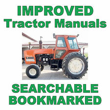 Allis Chalmers 7045 and 7050 TRACTOR Tractors Shop Service Repair Manual on a CD