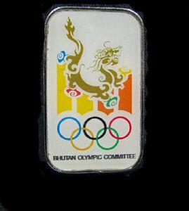 TOKYO Bhutan Olympic NOC TEAM new  Dragon design scarce limited pin