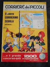 ***CORRIERE DEI PICCOLI N. 40 (1965)*** CON FIGURINE CALCIO DA RITAGLIARE !